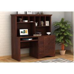 Jerold Study Table (Walnut Finish)