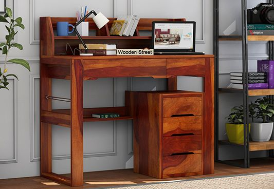 Study Table With Storage for adults