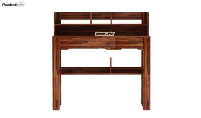 Landon Study Table With Storage (Teak Finish)-7
