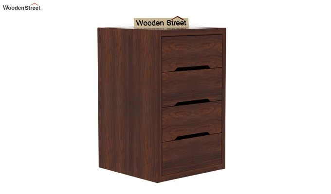Landon Study Table With Storage (Walnut Finish)-8