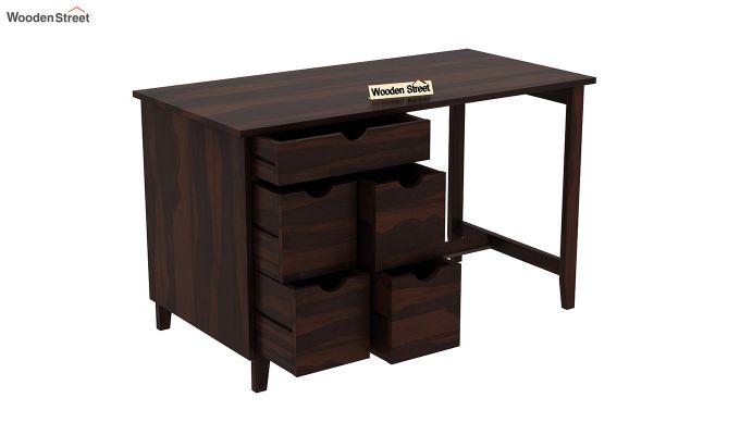 Lewis Study Table (Walnut Finish)-4
