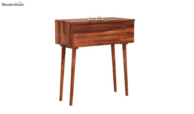 Lynton Storage Work Desk (Honey Finish)-3