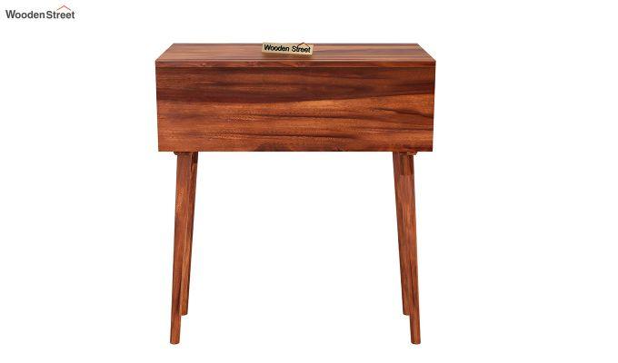 Lynton Storage Work Desk (Honey Finish)-5