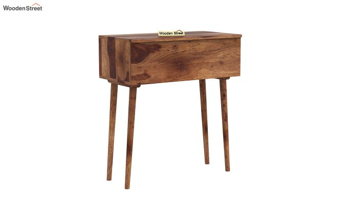 Lynton Storage Work Desk (Teak Finish)-3