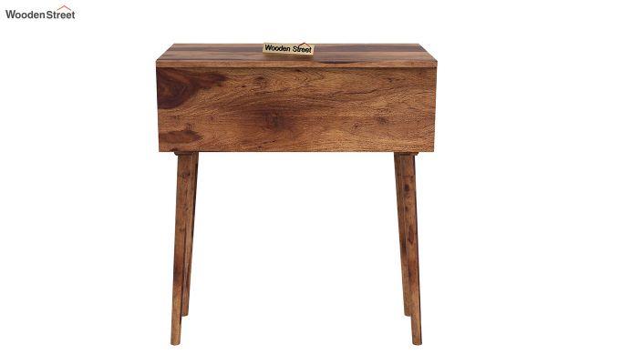 Lynton Storage Work Desk (Teak Finish)-5