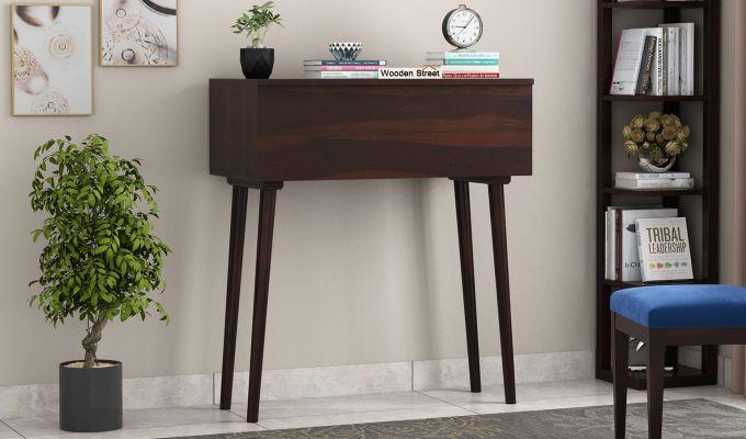 Lynton Storage Work Desk (Walnut Finish)-2