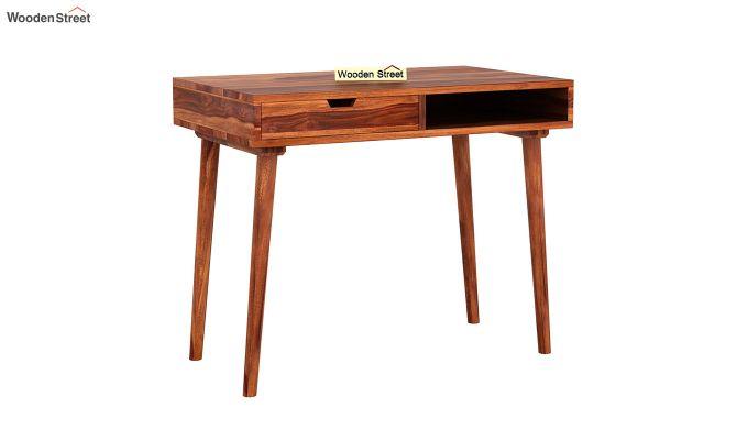 Lynton Study Table (Honey Finish)-2