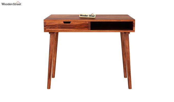 Lynton Study Table (Honey Finish)-3