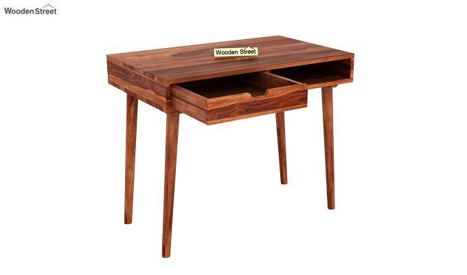 Lynton Study Table (Honey Finish)-4