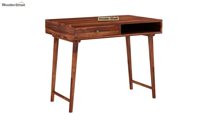 Lynton Kids Study Table (Honey Finish)-2