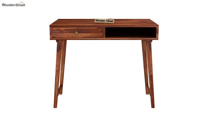 Lynton Kids Study Table (Honey Finish)-3