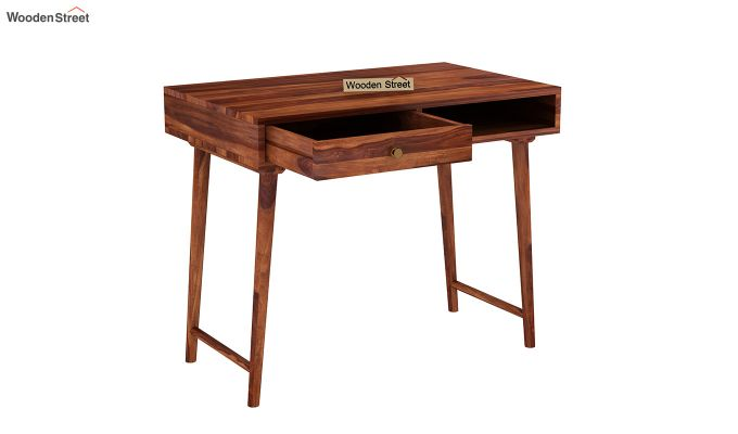 Lynton Kids Study Table (Honey Finish)-4