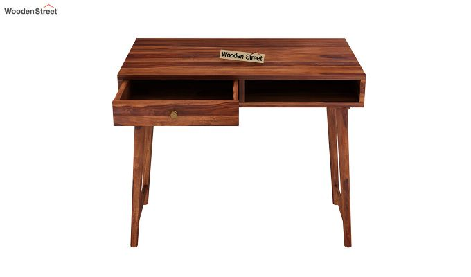 Lynton Kids Study Table (Honey Finish)-5