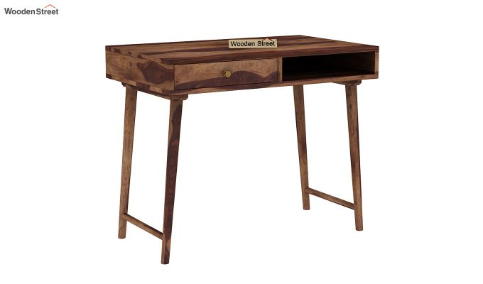 Lynton Study Table (Teak Finish)-2