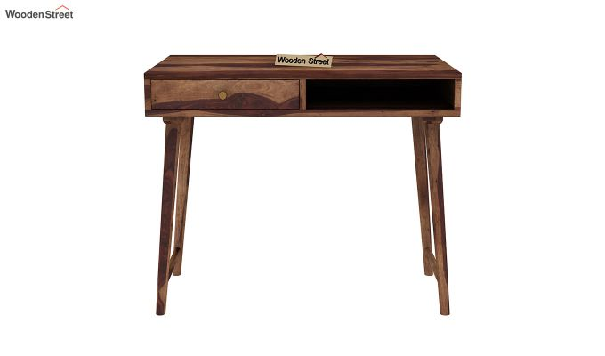 Lynton Study Table (Teak Finish)-3