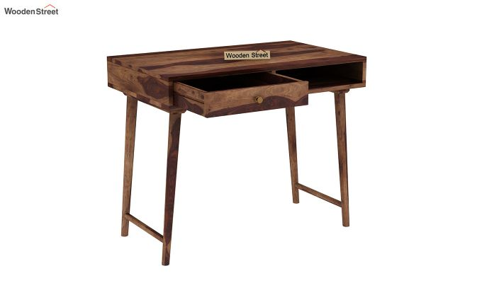 Lynton Study Table (Teak Finish)-4