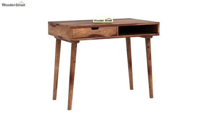 Lynton Study Table (Teak Finish)-2