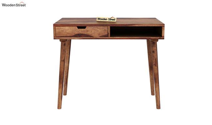 Lynton Study Table (Teak Finish)-3