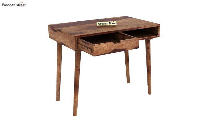 Lynton Study Table (Teak Finish)-4