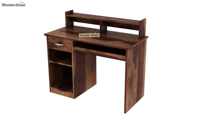 Madoc Computer Table (Teak Finish)-5