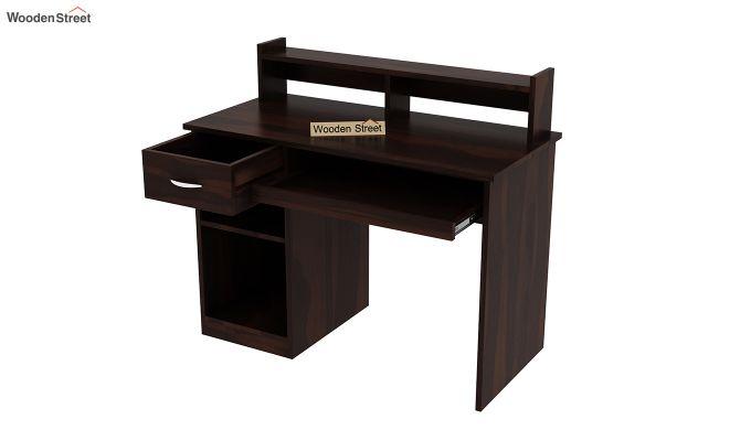Madoc Computer Table (Walnut Finish)-4