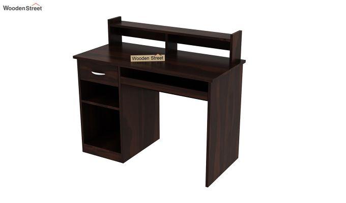 Madoc Computer Table (Walnut Finish)-5