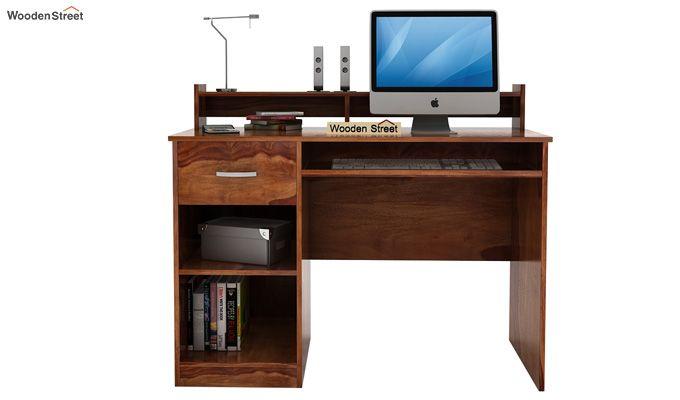 Madoc Computer Table (Teak Finish)-3