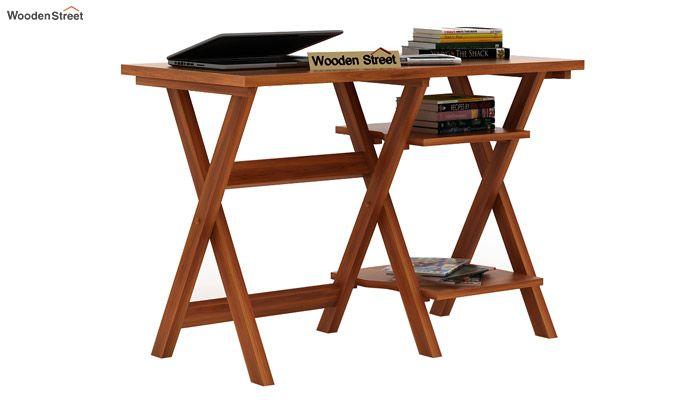 Mathers Study Table (Honey Finish)-1