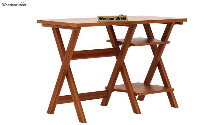 Mathers Study Table (Honey Finish)-3
