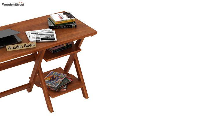 Mathers Study Table (Honey Finish)-4