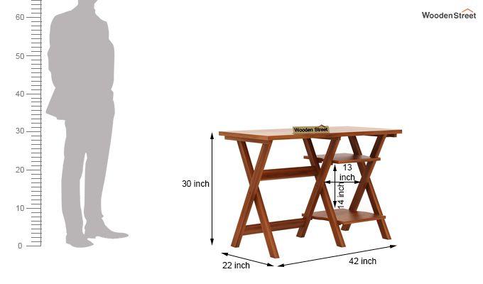 Mathers Study Table (Honey Finish)-5