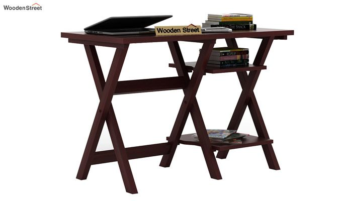 Mathers Study Table (Mahogany Finish)-1