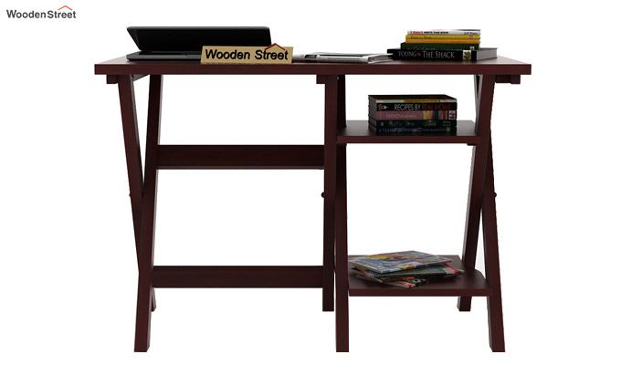 Mathers Study Table (Mahogany Finish)-2