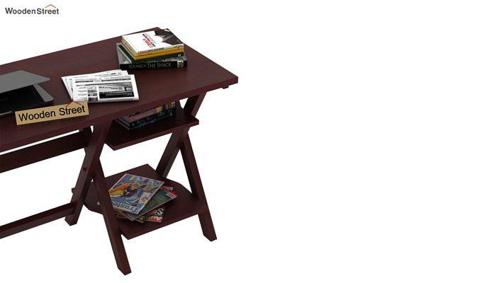 Mathers Study Table (Mahogany Finish)-4