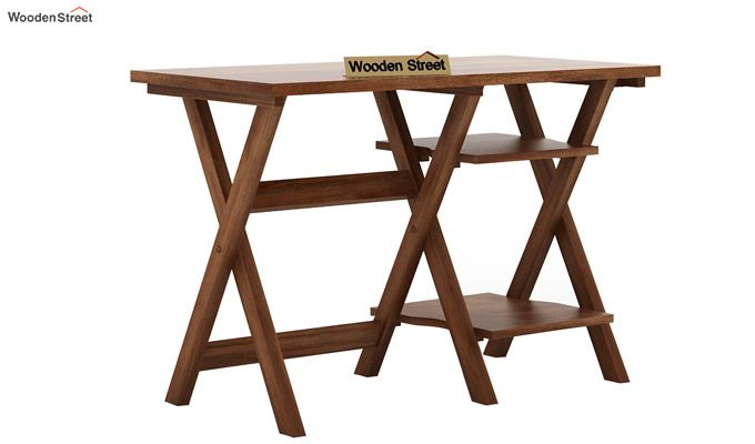 Mathers Study Table (Teak Finish)-3