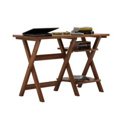 Mathers Study Table (Teak Finish)