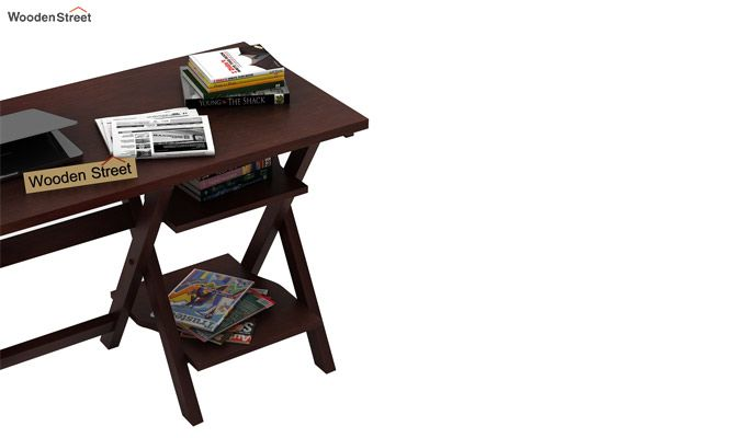 Mathers Office Table (Walnut Finish)-5