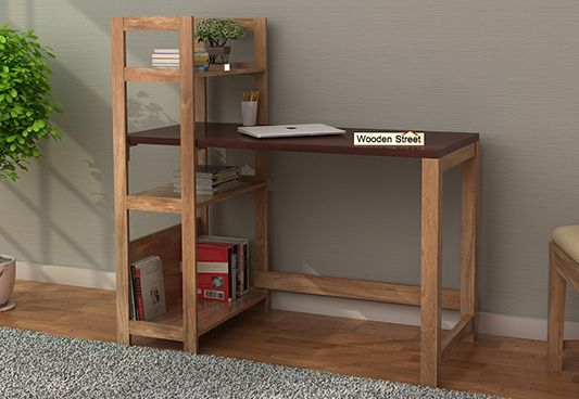 Study Desk Cum Bookshelf for Students