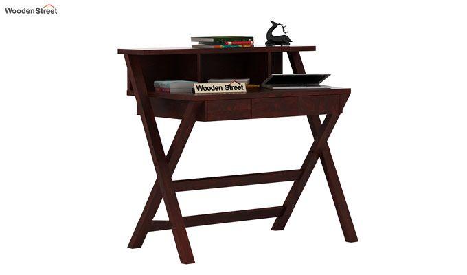 Murphy Study Table (Mahogany Finish)-1
