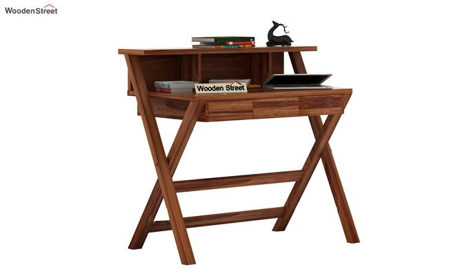 Murphy Study Table (Teak Finish)-2