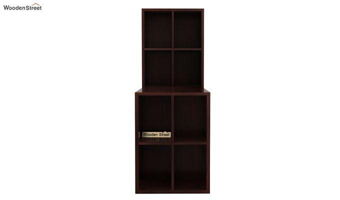 Otley Study Table With Shelf (Walnut Finish)-3