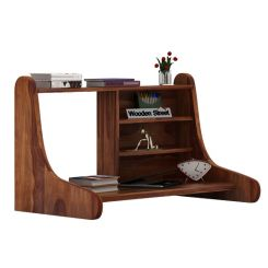 Picaro Wall Mount Table (Teak Finish)