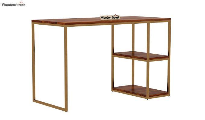 Porter Study Table (Honey Finish)-2