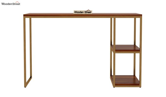 Porter Study Table (Honey Finish)-3