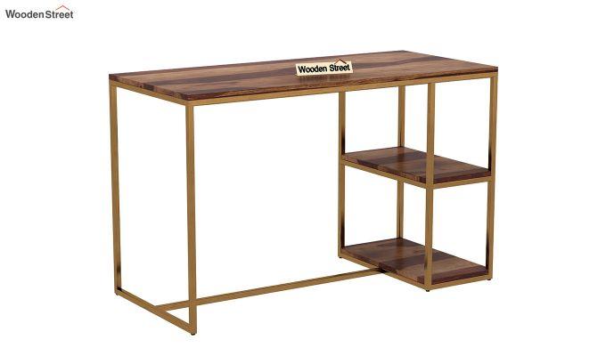 Porter Kids Study Table (Teak Finish)-2