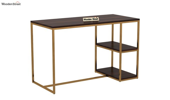 Porter Kids Study Table (Walnut Finish)-2