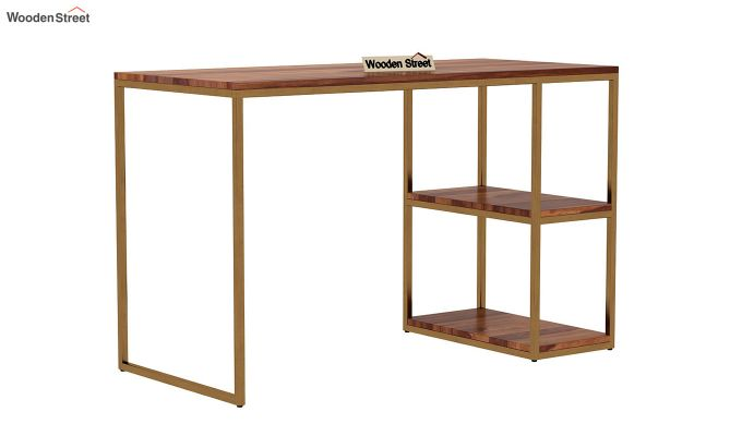 Porter Study Table (Teak Finish)-2