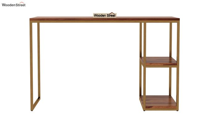 Porter Study Table (Teak Finish)-3