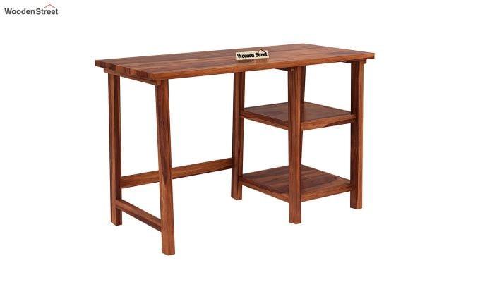 Renaker Study Desk (Honey Finish)-2