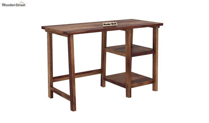 Renaker Study Desk (Teak Finish)-2